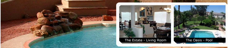 Hot Deal Pictures: The Estate - Living Room, The Oasis - Pool