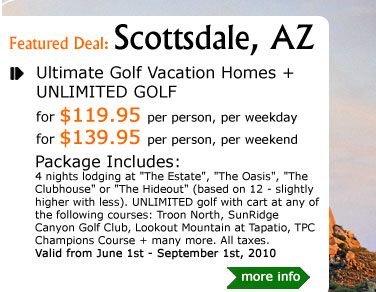 Ultimate Golf Vacation Homes + UNLIMITED GOLF