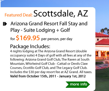 Arizona Grand Resort Fall Stay and Play - Suite Lodging + Golf