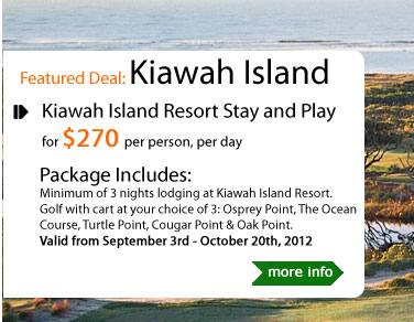 Kiawah Island Resort Stay and Play