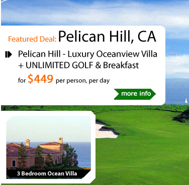 Pelican Hill - Luxury Oceanview Villa + Golf & Breakfast
