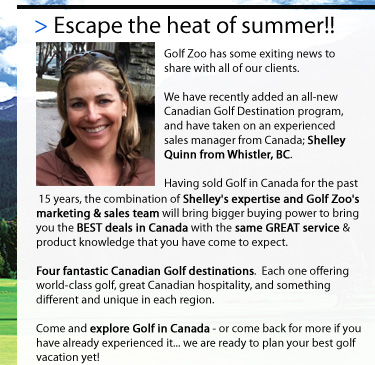 I have some exciting news to share with all of my former Eagle Golf Tours clients and associates.