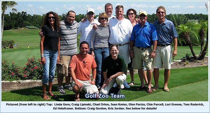 Golfzoo Team Goup Picture