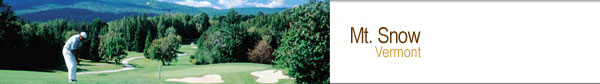 Mt. Snow, VT Golf