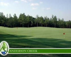 Golf Vacation Package - Anderson Creek Golf Club