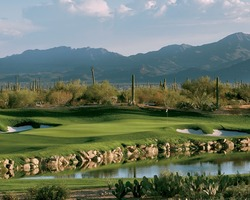 Phoenix Scottsdale-Golf excursion-ASU Karsten-Twilight After 1