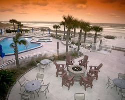 Jacksonville St Augustine- LODGING excursion-Courtyard by Marriott Oceanfront