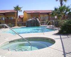 Mesquite-Lodging travel-Hawk Ridge Condominiums-2 Bedroom 2 Kings Sleeper Sofa