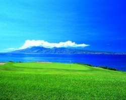 Maui- GOLF trek-Kapalua - Bay-Green Fee incl Cart Mid Morning 11 03am-12 51pm