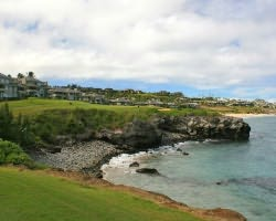 Maui- GOLF expedition-Kapalua - Bay-Green Fee incl Cart Mid Morning 11 03am-12 51pm