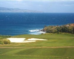 Maui-Golf trip-Kapalua - Plantation-Green Fee incl Cart Mid Morning 11 00am-12 50pm