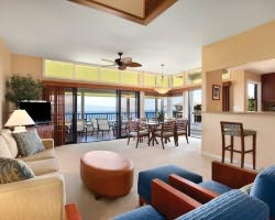 Maui-Lodging holiday-Kapalua Villas-3 Bedroom Fairway View