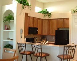 Tampa St Petersburg-Lodging tour-Lake Jovita Club Golf Villas-Villa Single Double Occupancy