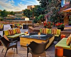 Phoenix Scottsdale-Lodging tour-Scottsdale Marriott Suites - Oldtown-Standard Suite