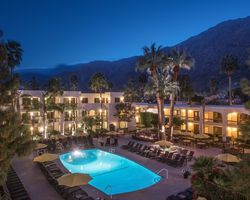 Palm Springs- LODGING tour-Palm Mountain Resort Spa - Downtown Palm Springs