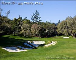 Monterey- GOLF holiday-Pasatiempo Golf Club-Green Fee incl Cart