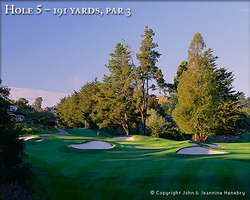 Monterey- GOLF expedition-Pasatiempo Golf Club-Green Fee incl Cart