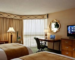San Antonio-Lodging weekend-Marriott San Antonio Rivercenter-Standard Room