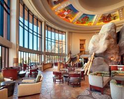 Phoenix Scottsdale-Lodging travel-Sheraton Wild Horse Pass Resort Spa-Deluxe Hotel Room