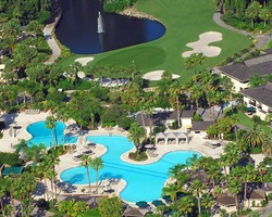 Golf Vacation Package - Saddlebrook Resort Golf Getaway for $229 per person per day!