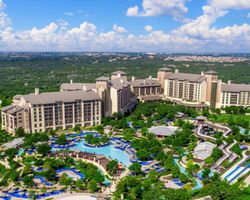 San Antonio-Lodging excursion-Hyatt Regency Hill Country Resort-Balcony King Double Room