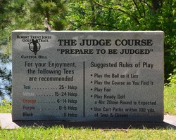 Robert Trent Jones Trail-Golf holiday-Capitol Hill - The Judge