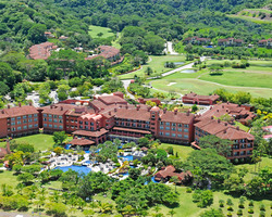 Costa Rica-Lodging excursion-Los Suenos Marriott Ocean Golf Resort-Ocean Front View w Balcony
