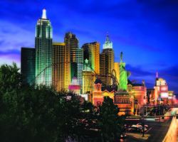 Las Vegas-Lodging trek-New York-New York Hotel Casino