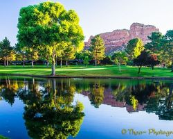 Sedona- GOLF travel-Oak Creek Country Club