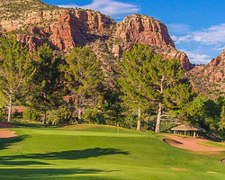 Sedona- GOLF trip-Oak Creek Country Club