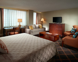 Austin - Barton Creek- LODGING travel-The Omni Southpark Austin-Deluxe Room 1 K or 2 Q