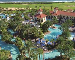 Jacksonville St Augustine- LODGING holiday-Hammock Beach Resort at Palm Coast - Tropical Villas-3 Bedroom Tropical Villa