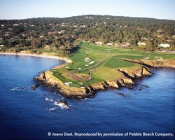 Monterey- GOLF travel-Pebble Beach Golf Links reg