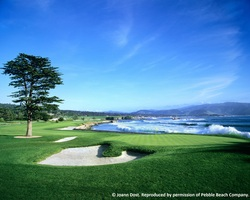 Monterey- GOLF trek-Pebble Beach Golf Links reg