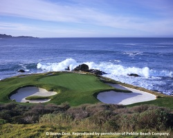 Monterey- GOLF expedition-Pebble Beach Golf Links reg