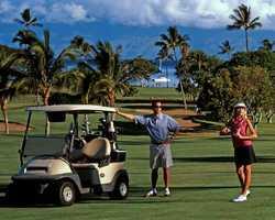 Maui-Golf weekend-Royal Kaanapali North -Green Fee inc Cart