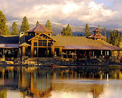 Central Oregon- LODGING trip-Sunriver Resort-Lodge Village Guestroom - Double Double