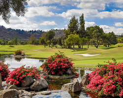 San Diego-Golf trek-Sycuan Resort Casino - Willow Glen course