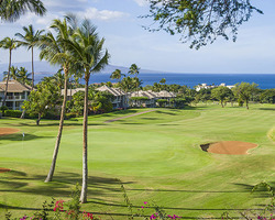 Maui- GOLF vacation-Wailea - Old Blue Course-Green Fee incl Cart