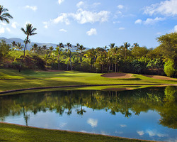 Maui- GOLF expedition-Wailea - Old Blue Course-Green Fee incl Cart