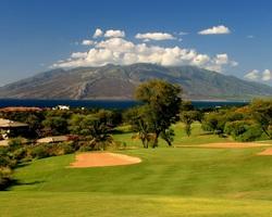 Maui-Golf excursion-Wailea - Old Blue Course-Green Fee incl Cart