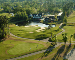 Golf Vacation Package - Myrtle Beach Getaway - Oceanfront Lodging - 3 Nights & 3 Rounds & 2hr Top Golf Bay Reservation