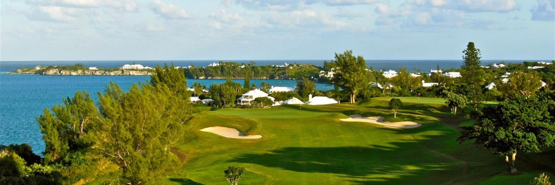 Golf Vacation Package - Fairmont Southampton Bermuda Golf Around Getaway for $277 per day!