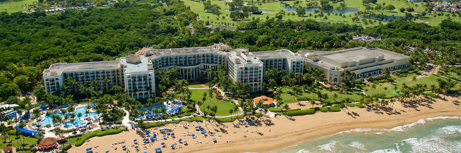 Golf Vacation Package - Wyndham Grand Rio Mar Resort All-Inclusive Stay & Play for $354 per day!