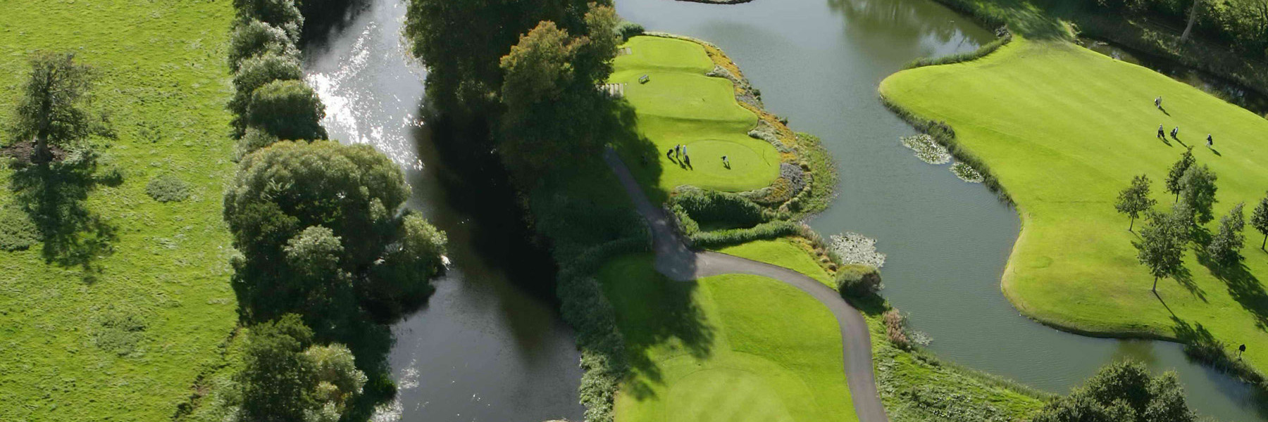 Golf Vacation Package - Dublin Ireland - 6 Nights and 5 Rounds at The K Club with rental car for $2795