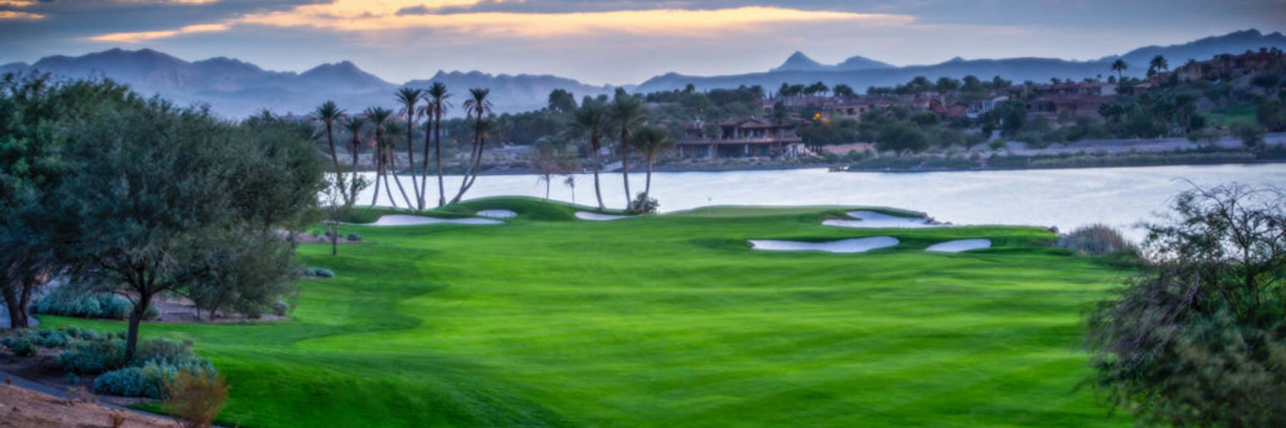 Golf Vacation Package - Sin City at its Finest! Luxor Resort + Angel Park/Revere/Chimera/Reflection Bay for $229!
