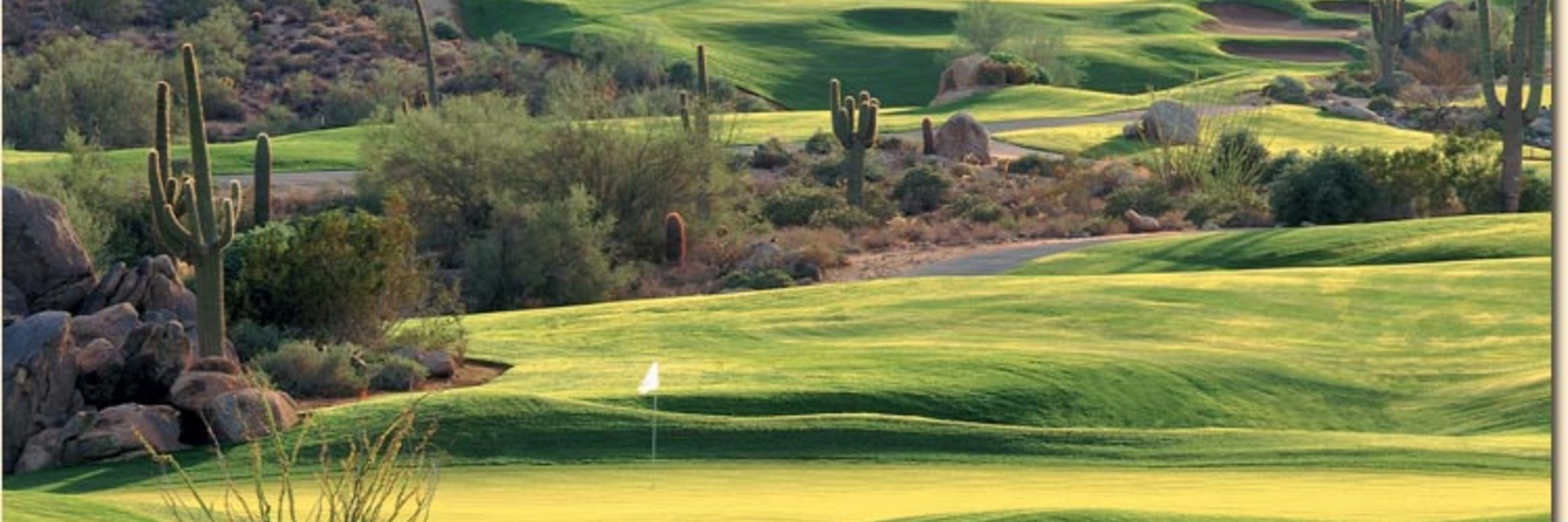 Golf Vacation Package - Marriott at McDowell Mtns + 4-Rounds Golf for $197!