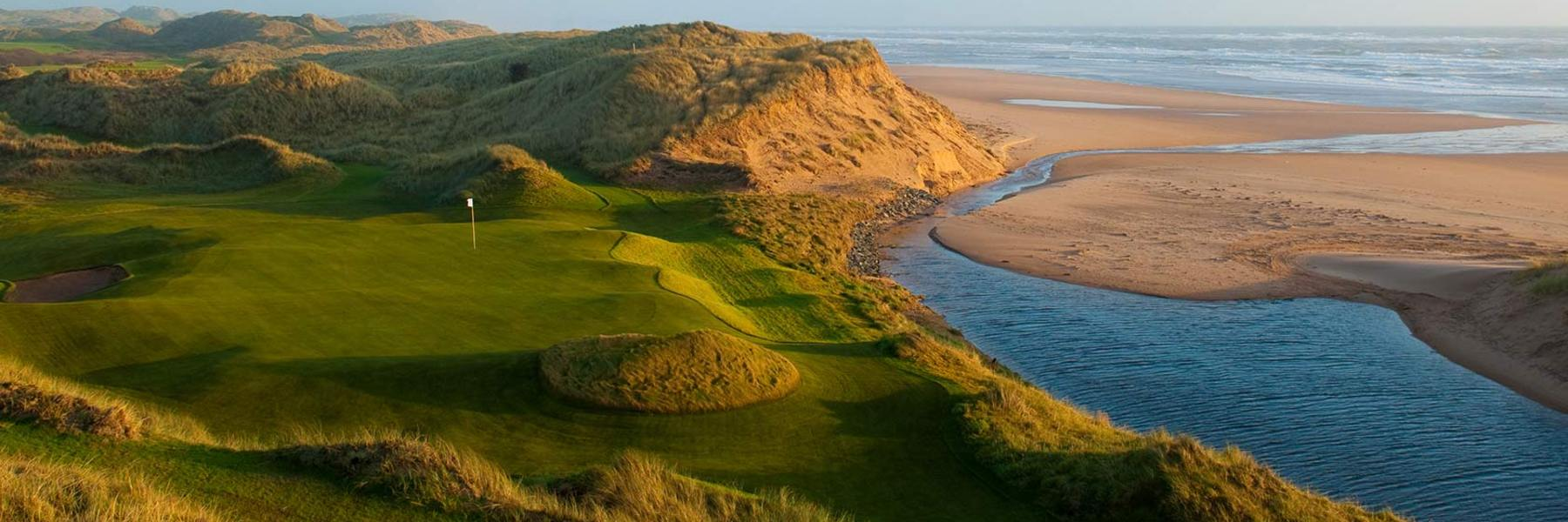 Golf Vacation Package - Scottish Highlands Summertime Special - 6 Nights + 5 Rounds + Car for $2999!