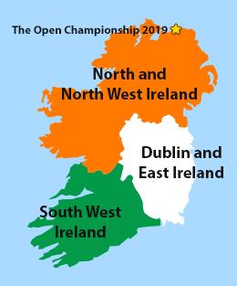Golf Map Of Ireland.Ireland Golf Package Deals Golf Zoo