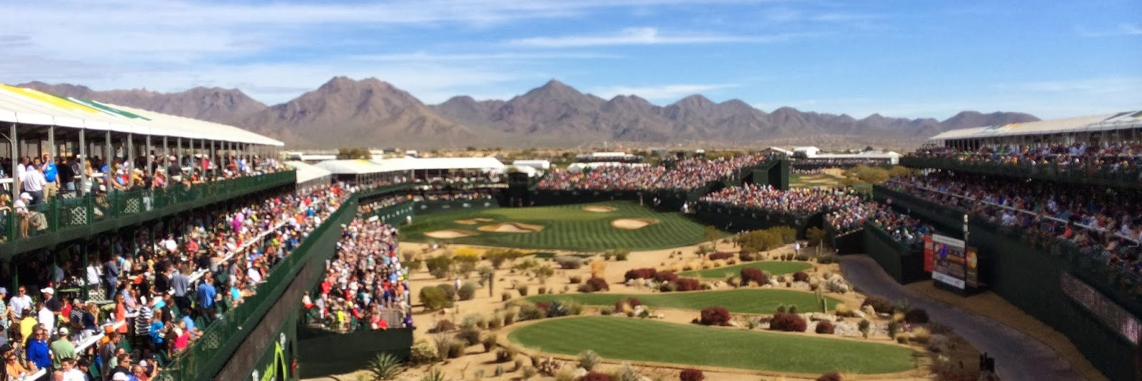 "Phoenix / Scottsdale Package: Phoenix Open - ""Greatest Show on Grass"" Stay and Play at $199 per person, per day!"